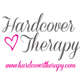 hardcover therapy button