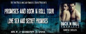 rock n roll promises tour banner
