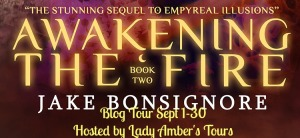 awakening the fire tour banner