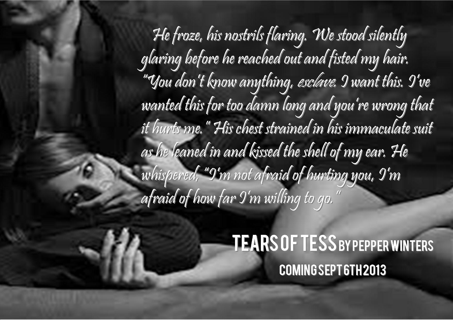 tears of tess excerpt pic