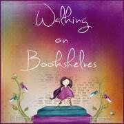 walking on bookshelves tour button