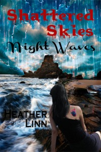 shattered skies night waves cover pic